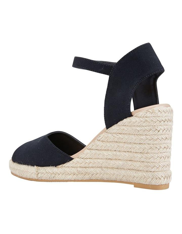 Aloha Black Linen Sandals image 7