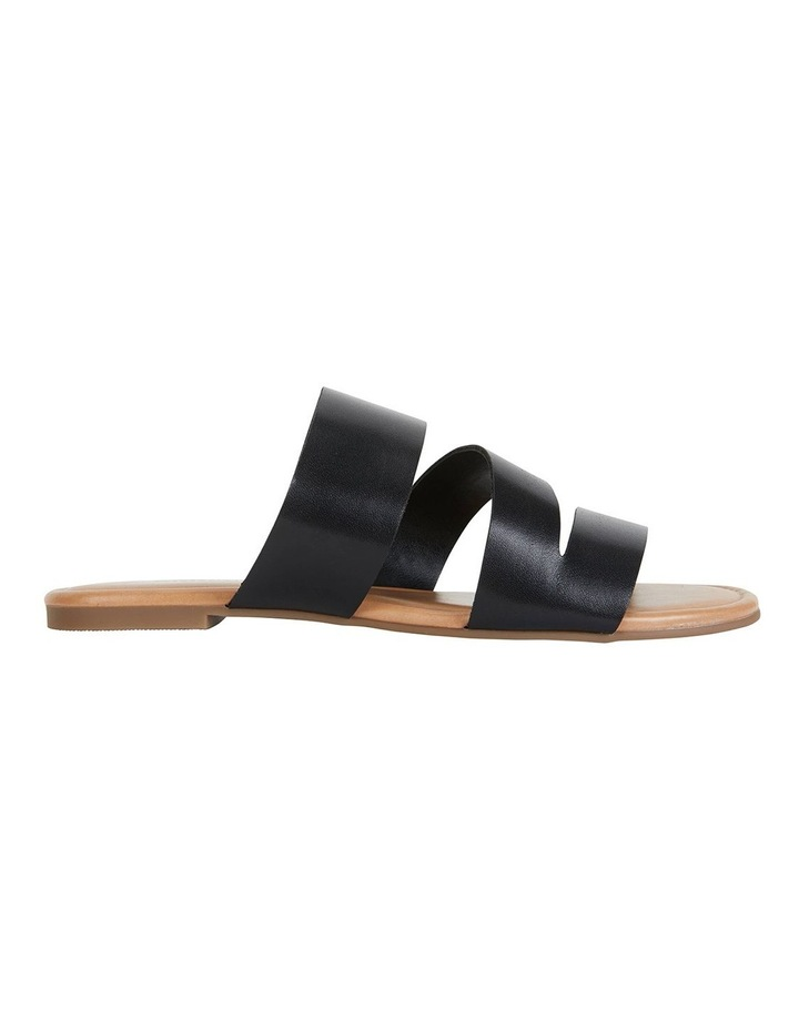 Detour Black Glove Sandals image 1