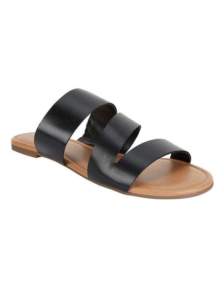 Detour Black Glove Sandals image 2