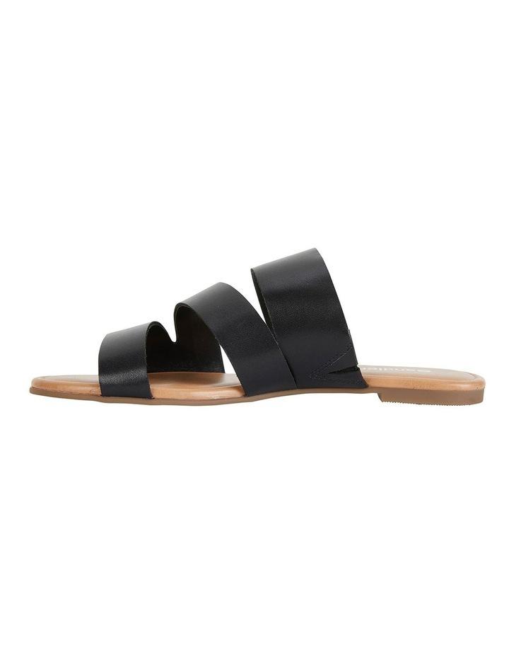 Detour Black Glove Sandals image 3