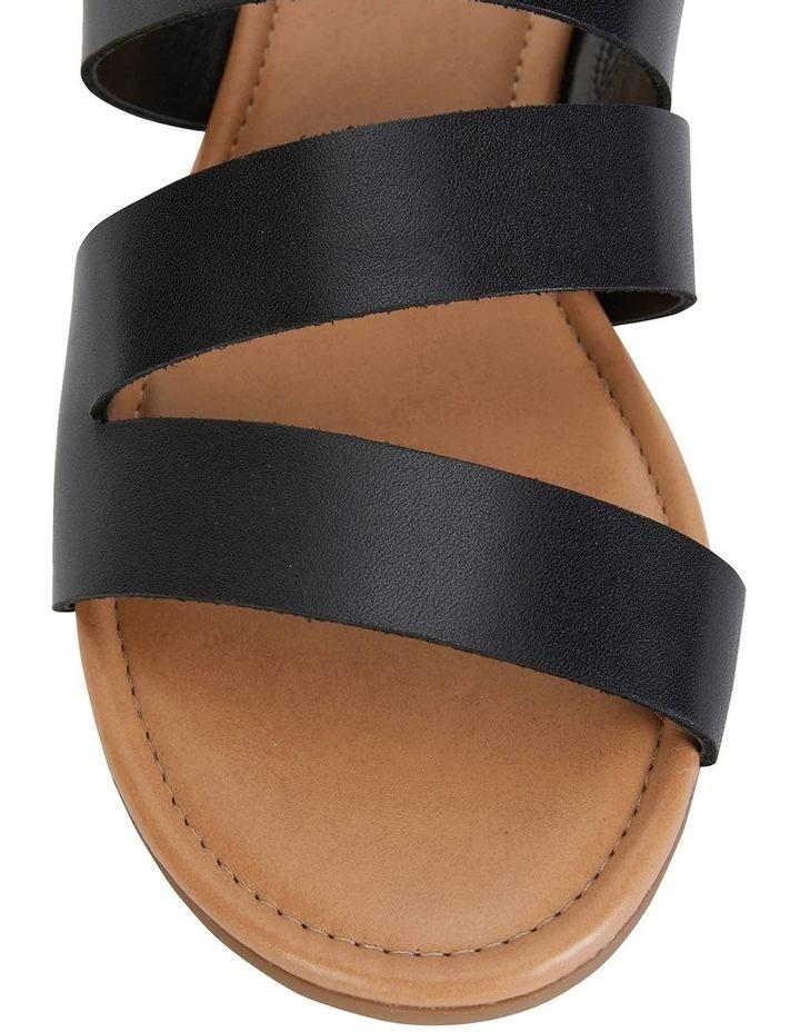 Detour Black Glove Sandals image 6