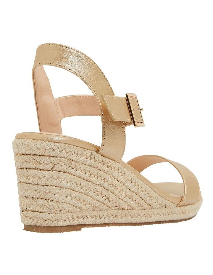Annie Soft Gold Smooth Sandals image 4
