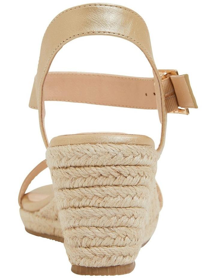 Annie Soft Gold Smooth Sandals image 5