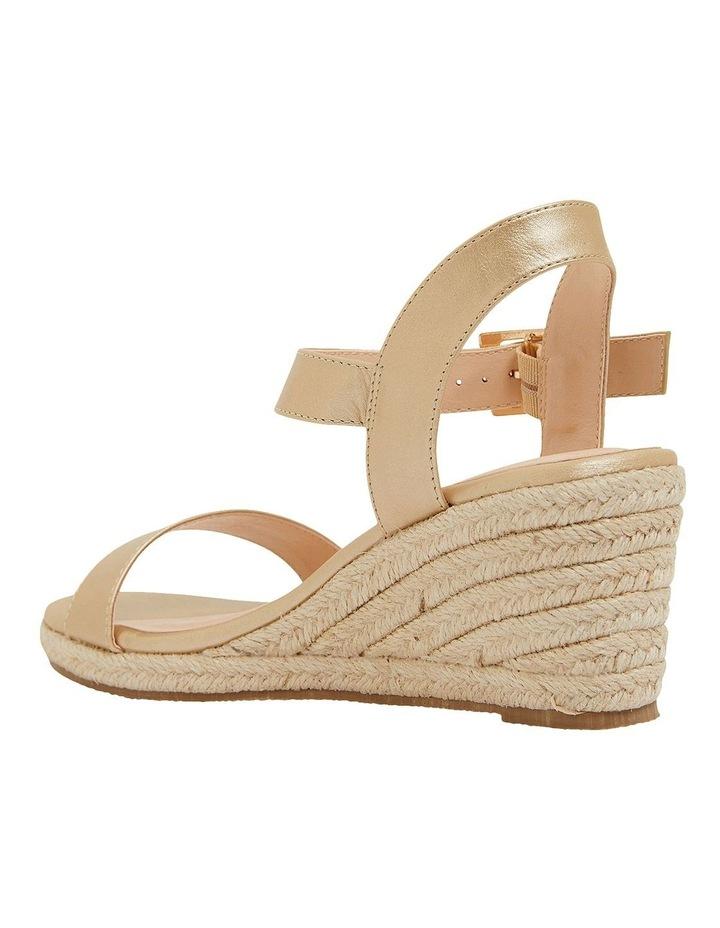 Annie Soft Gold Smooth Sandals image 6