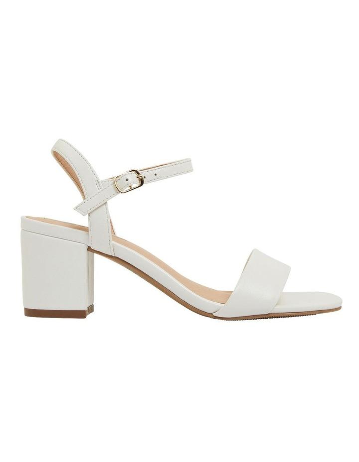 Heather White Glove Sandals image 1