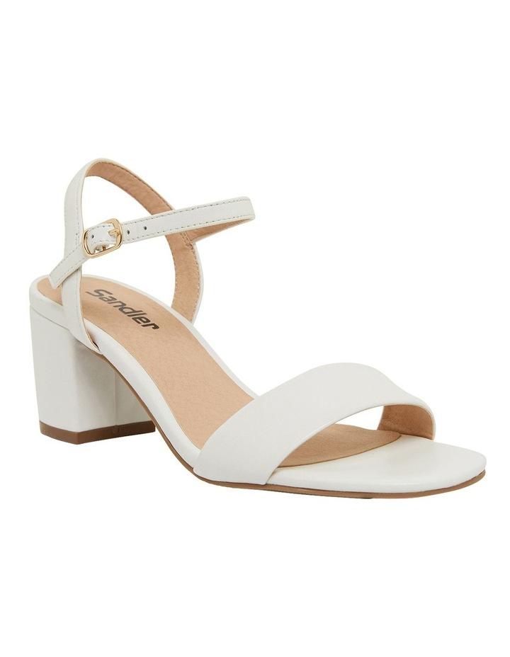 Heather White Glove Sandals image 2