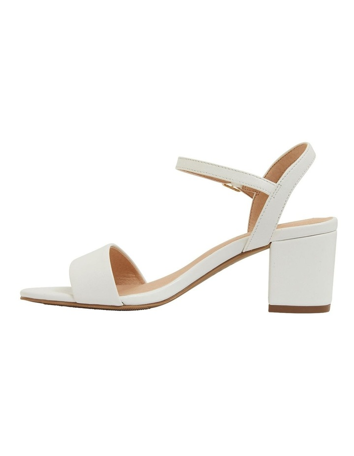 Heather White Glove Sandals image 3