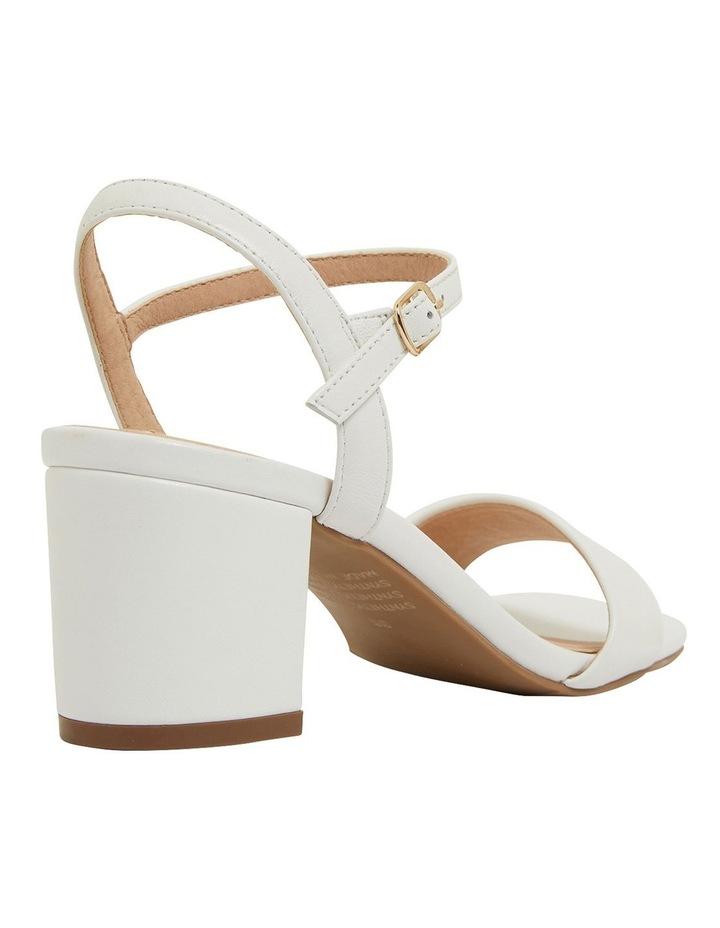 Heather White Glove Sandals image 4
