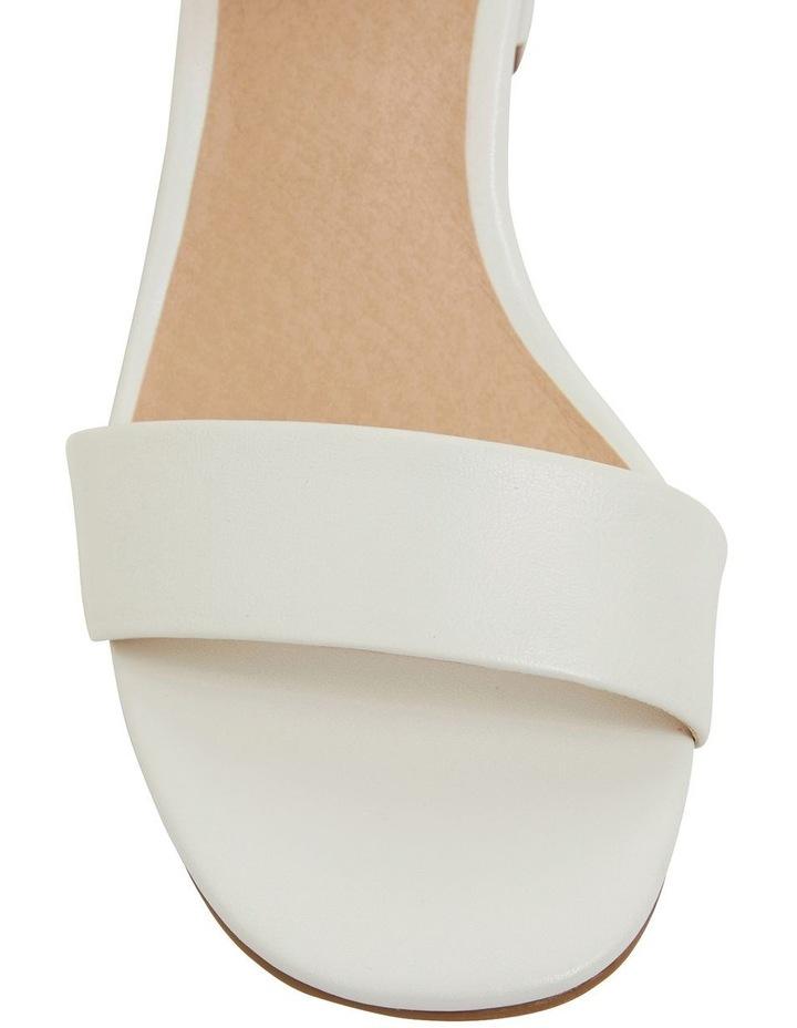Heather White Glove Sandals image 6