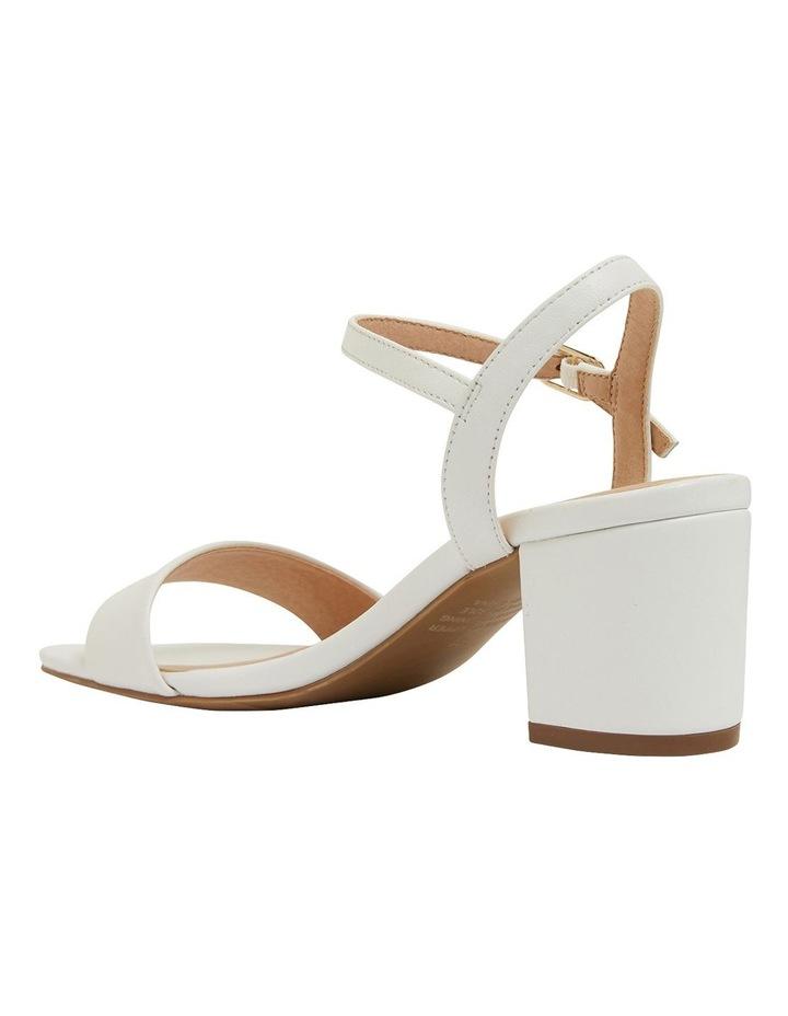 Heather White Glove Sandals image 7