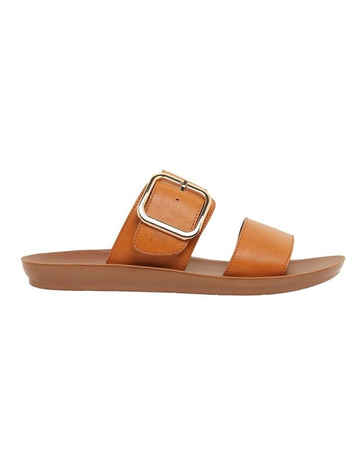 Garnet Cognac Smooth Sandals image 1