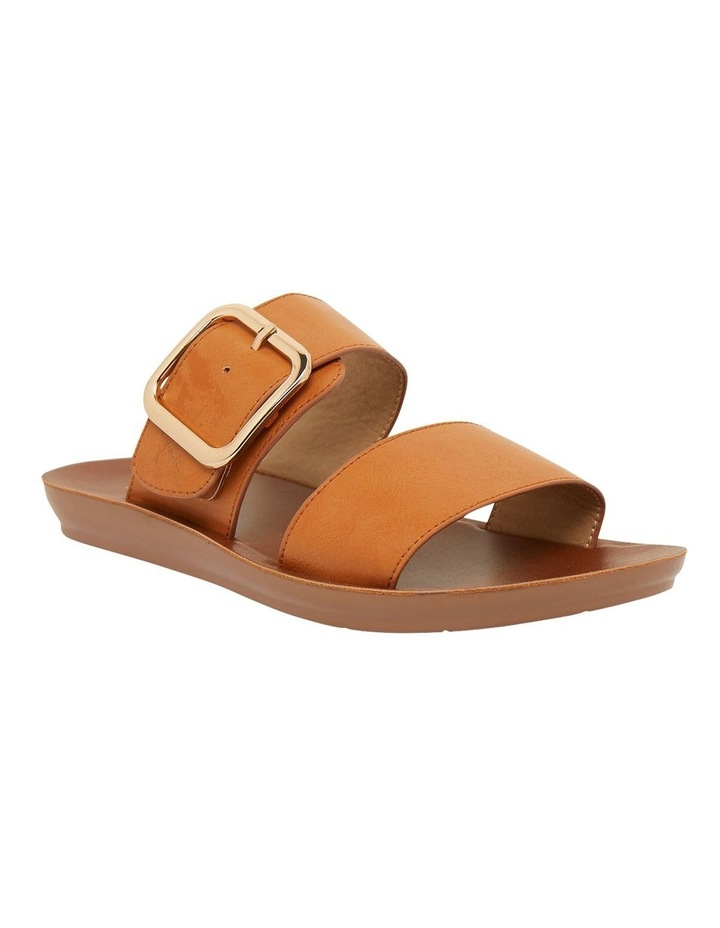 Garnet Cognac Smooth Sandals image 2
