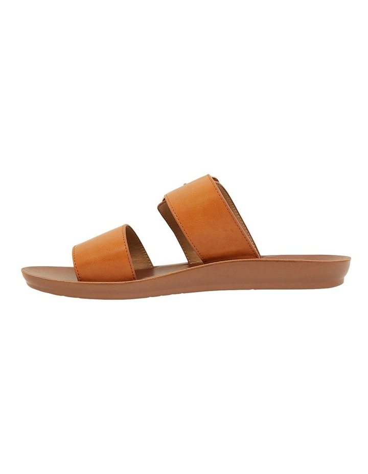 Garnet Cognac Smooth Sandals image 3