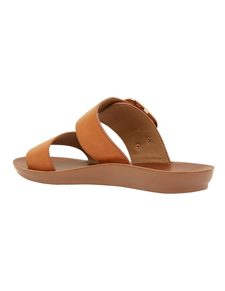 Garnet Cognac Smooth Sandals image 6
