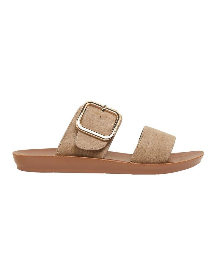 Garnet Taupe Smooth Sandals image 1
