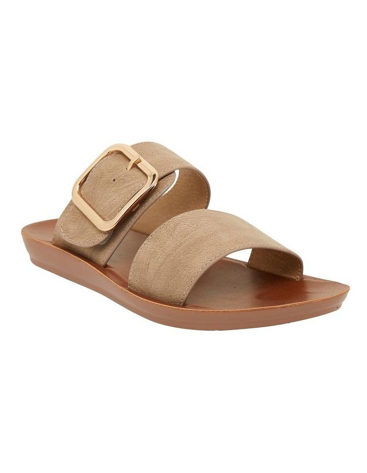 Garnet Taupe Smooth Sandals image 2