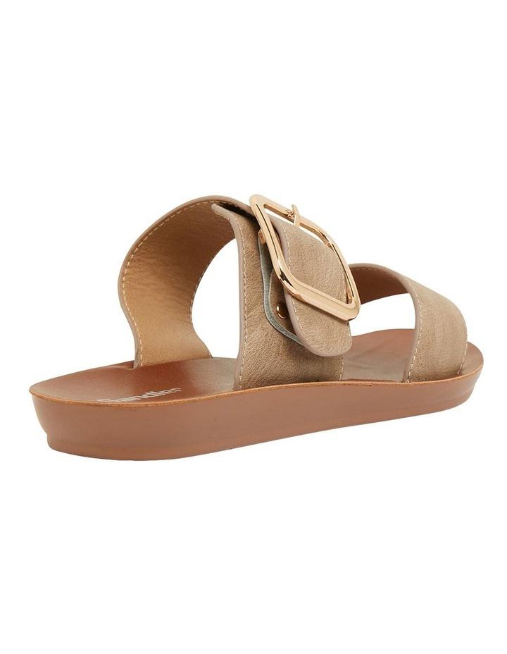 Garnet Taupe Smooth Sandals image 4