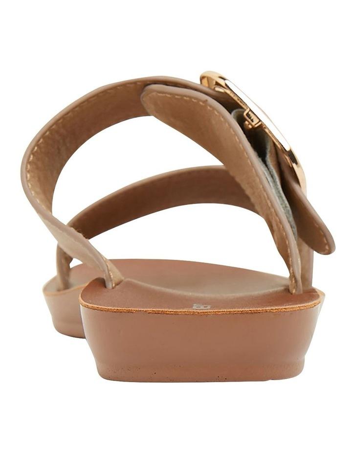 Garnet Taupe Smooth Sandals image 5