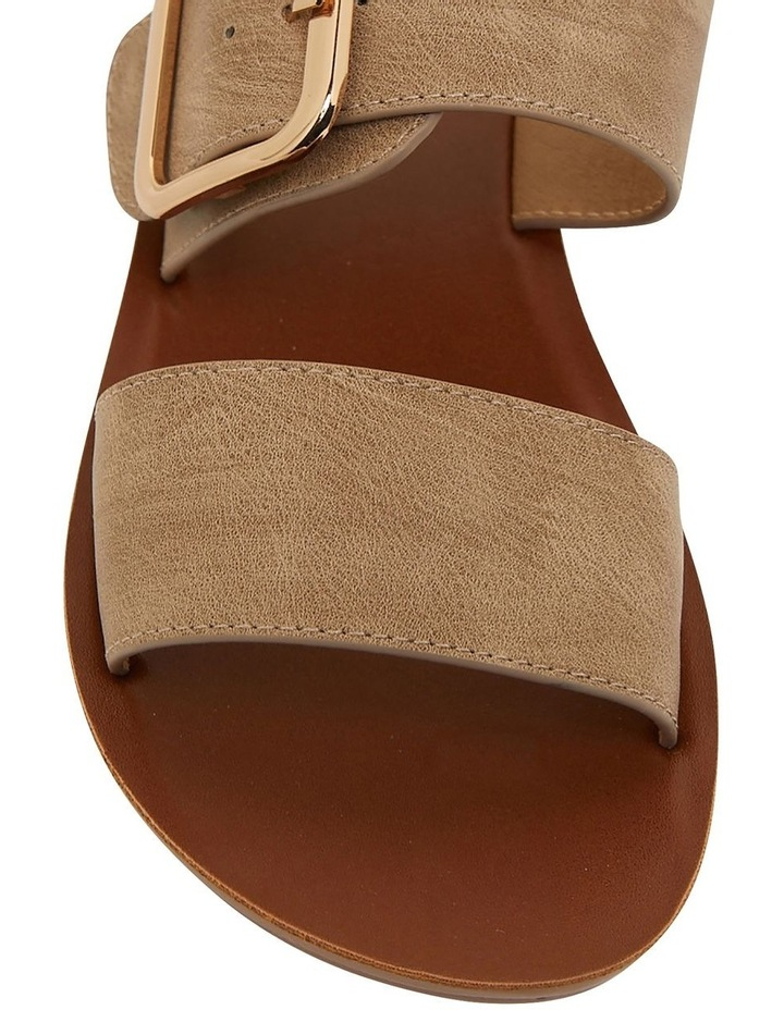 Garnet Taupe Smooth Sandals image 7