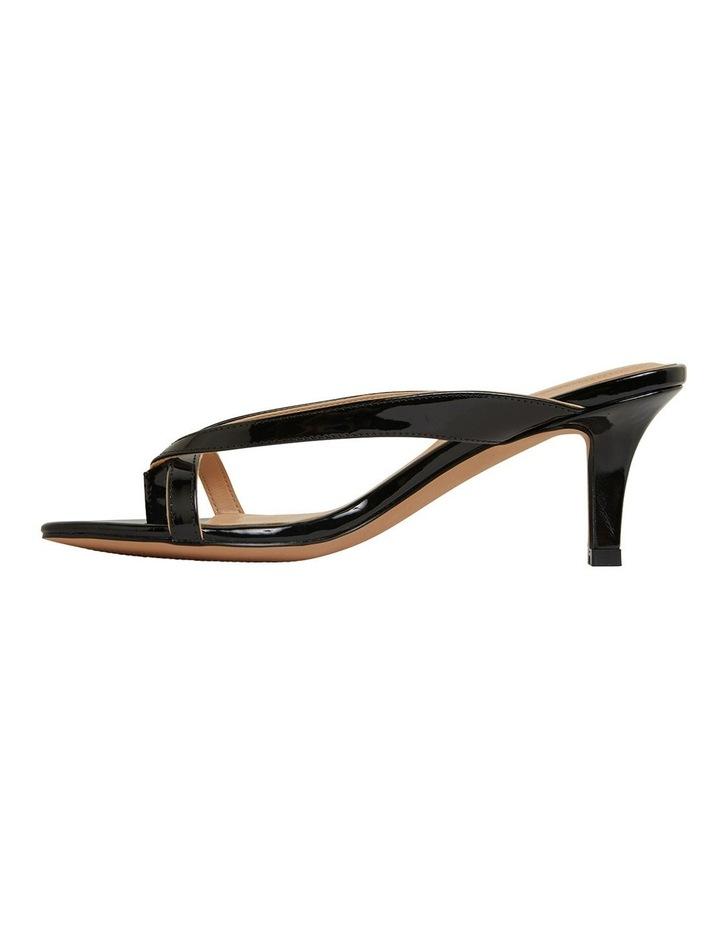 Madrid Black Patent Sandals image 3