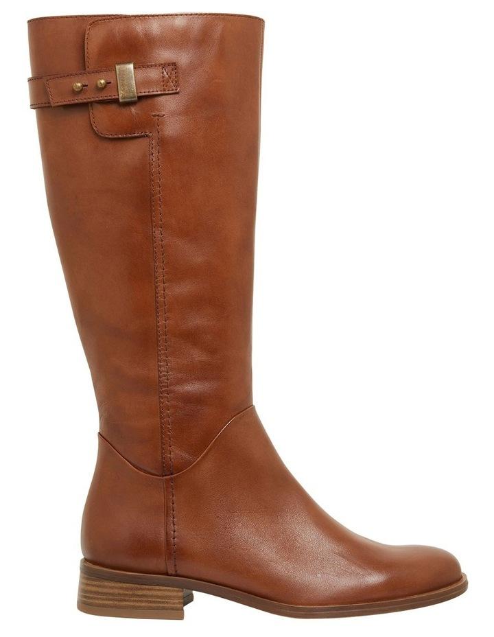 Jenna Mid Brown Glove Boots image 1