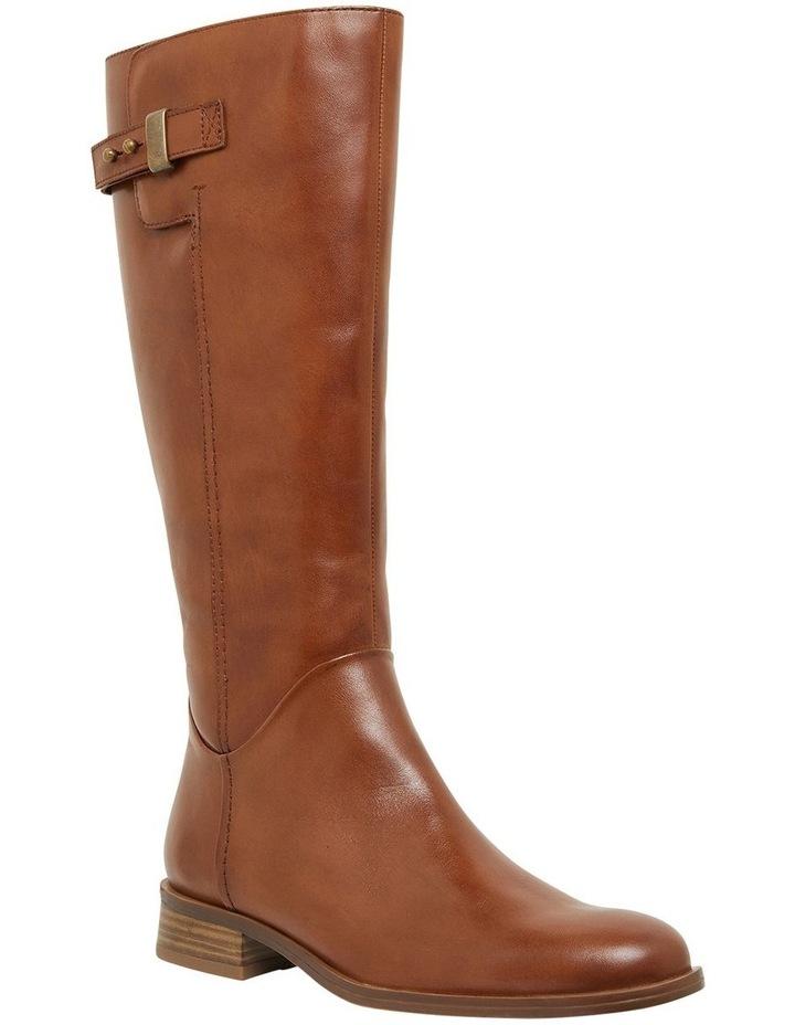 Jenna Mid Brown Glove Boots image 2