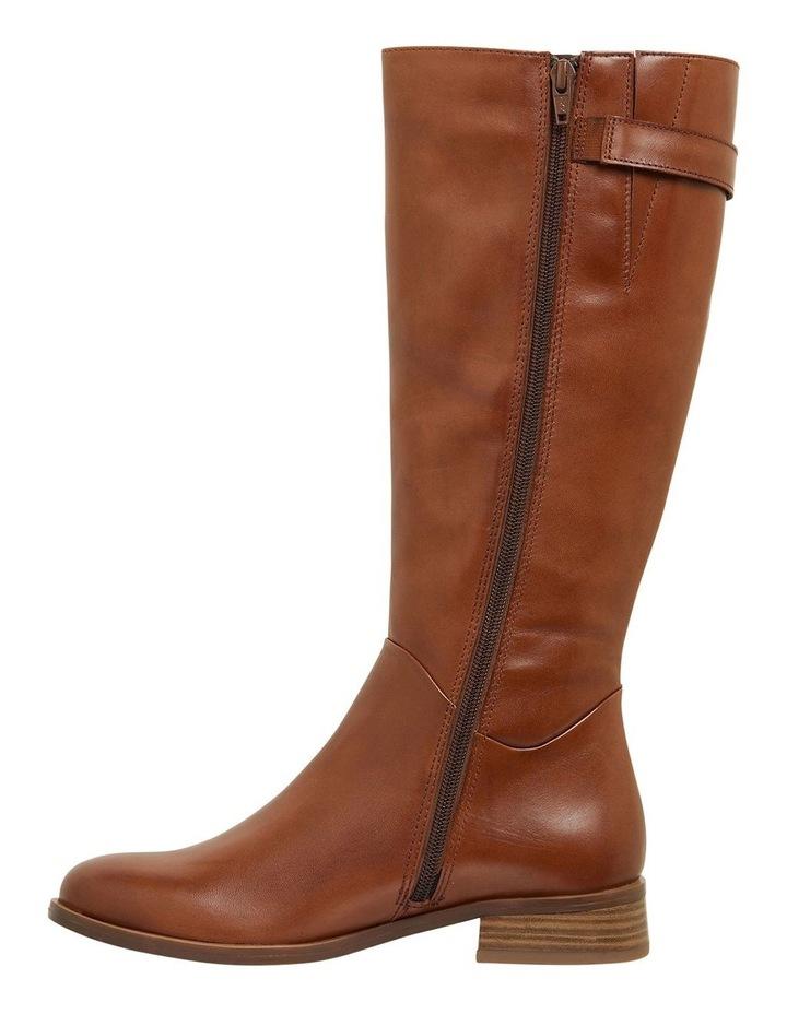 Jenna Mid Brown Glove Boots image 3