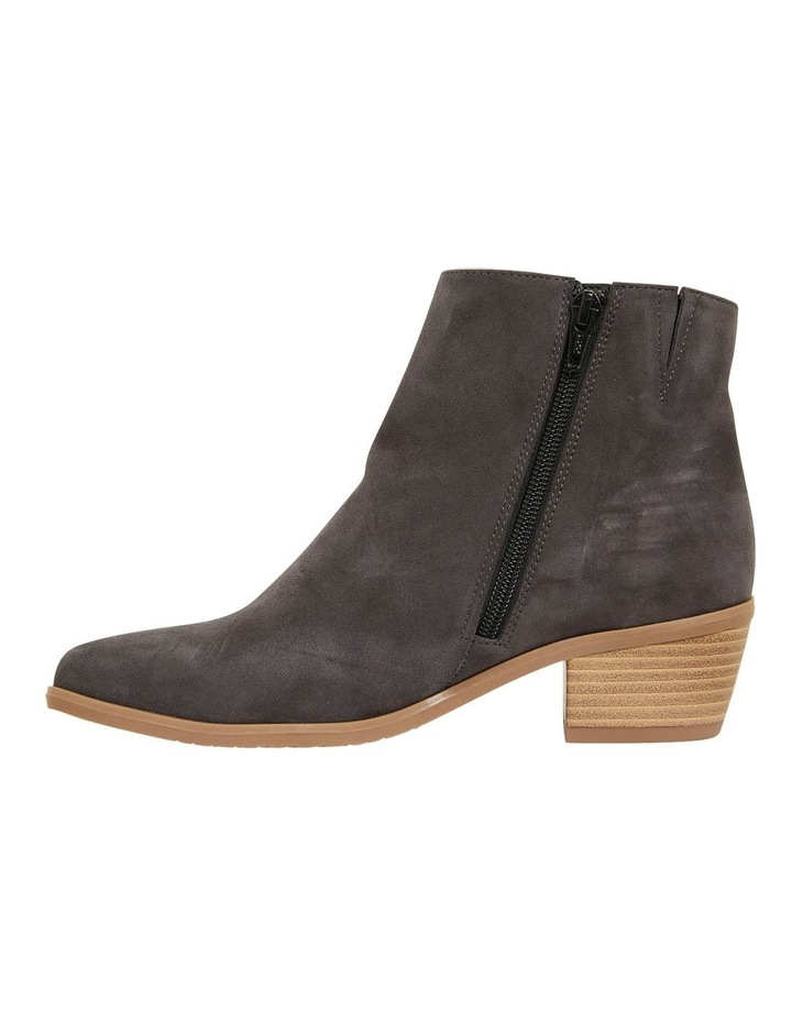 Pascal Grey Suede Boots image 3