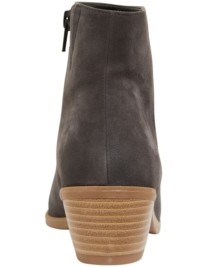 Pascal Grey Suede Boots image 5