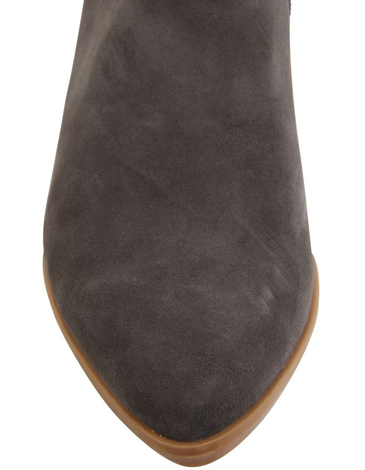 Pascal Grey Suede Boots image 6