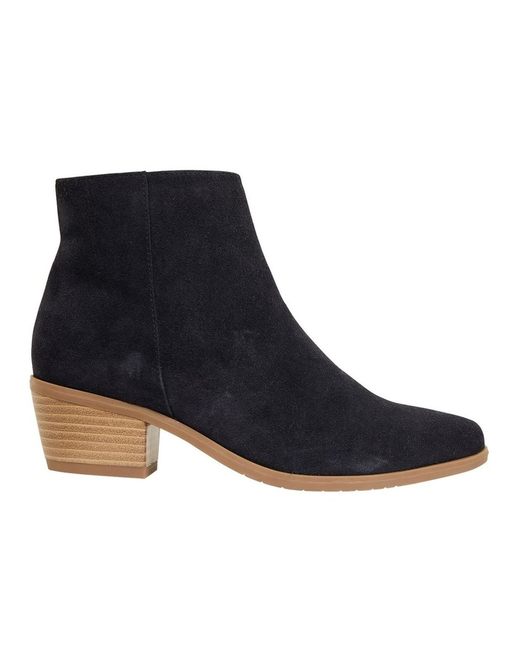 Pascal Navy Suede Boots image 1