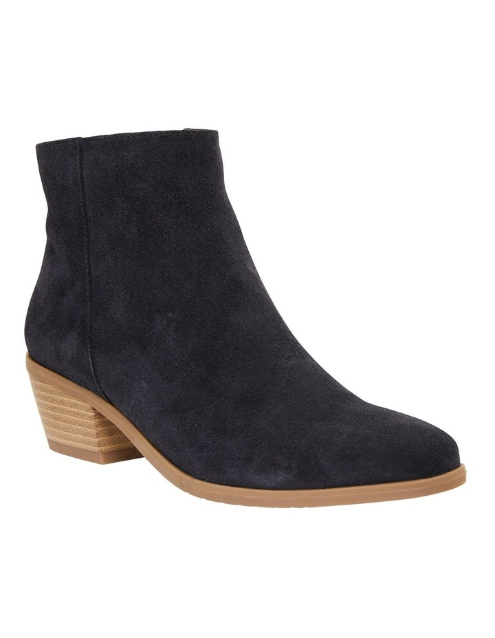 Pascal Navy Suede Boots image 2