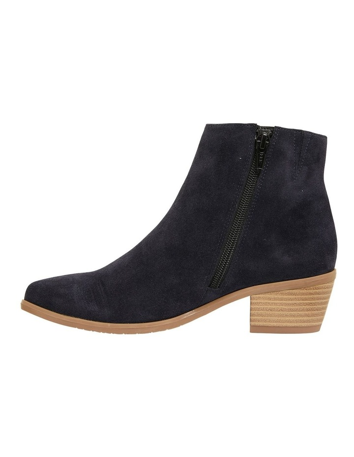 Pascal Navy Suede Boots image 3