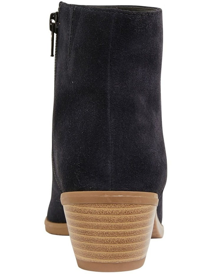 Pascal Navy Suede Boots image 5