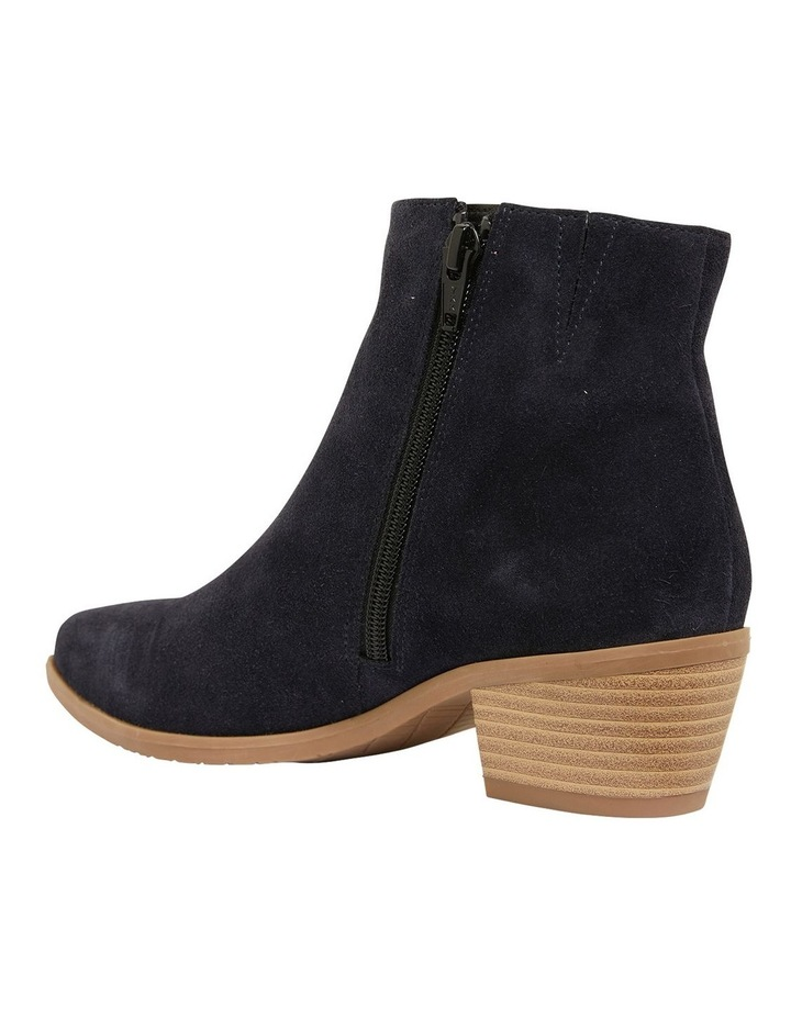 Pascal Navy Suede Boots image 7