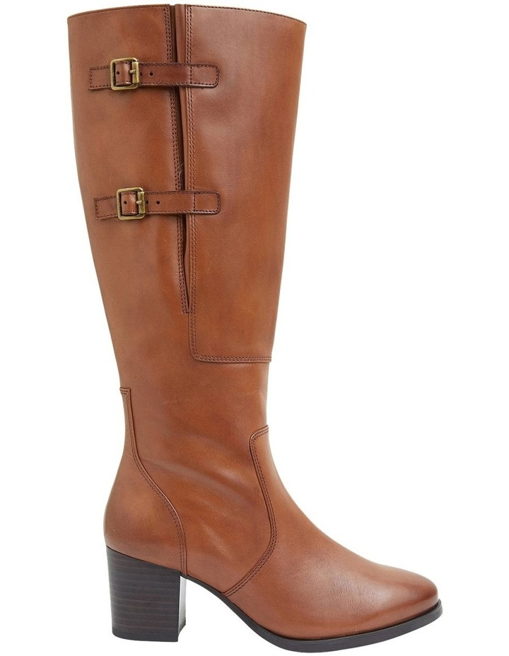 Dictate Mid Brown Glove Boots image 1