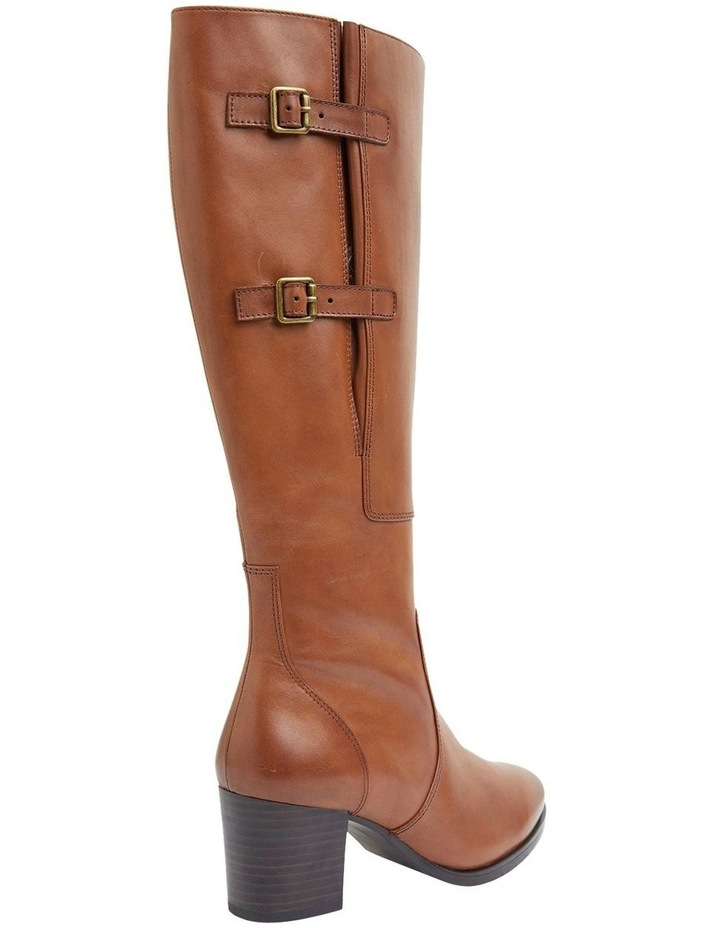 Dictate Mid Brown Glove Boots image 4