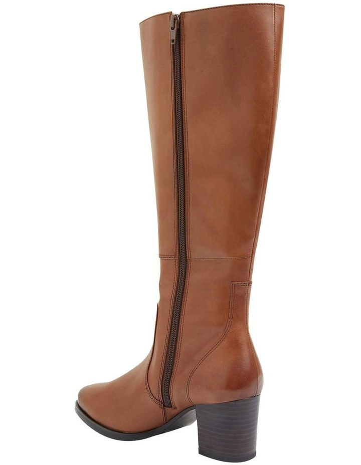 Dictate Mid Brown Glove Boots image 6