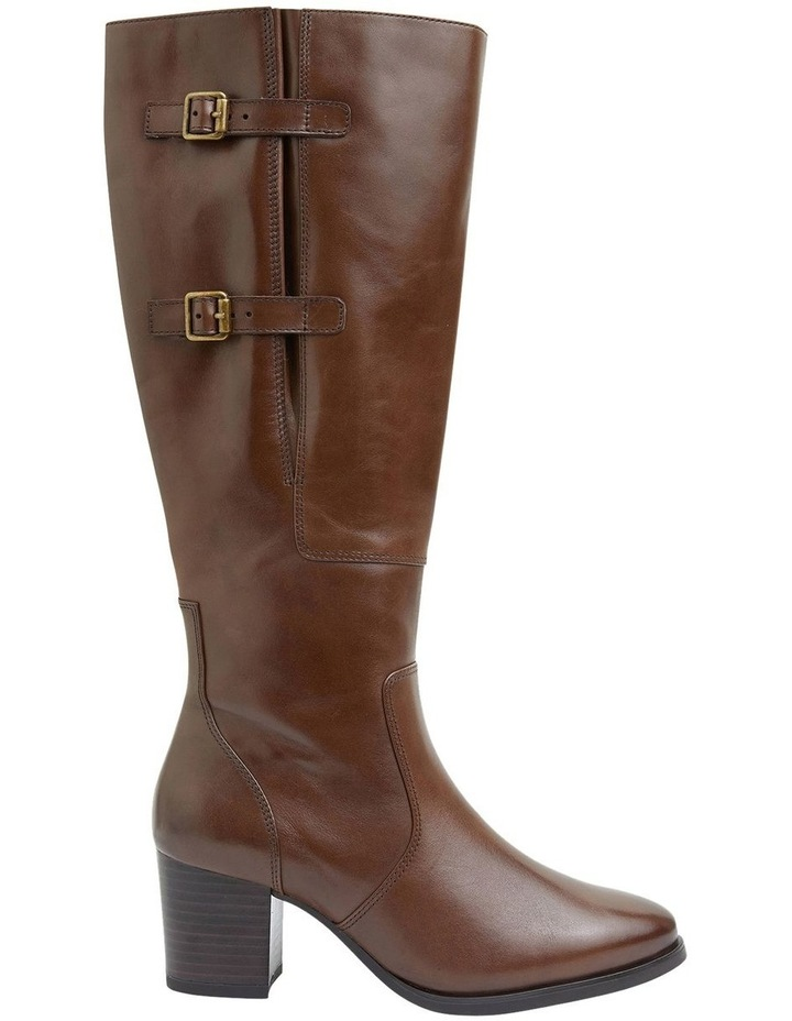 Dictate Brown Glove Boots image 1