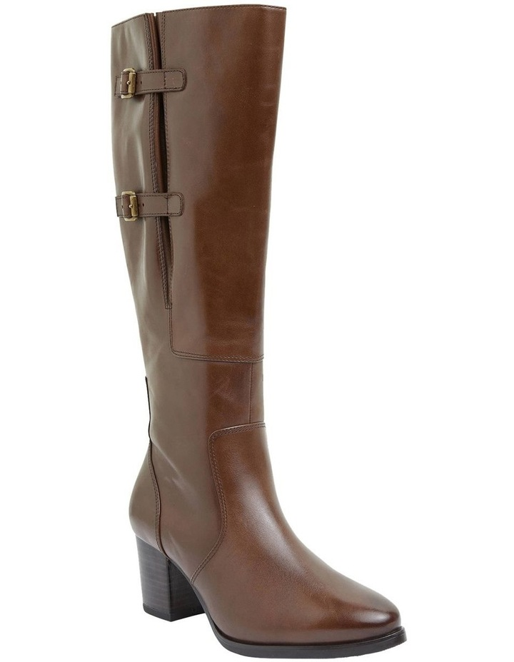 Dictate Brown Glove Boots image 2