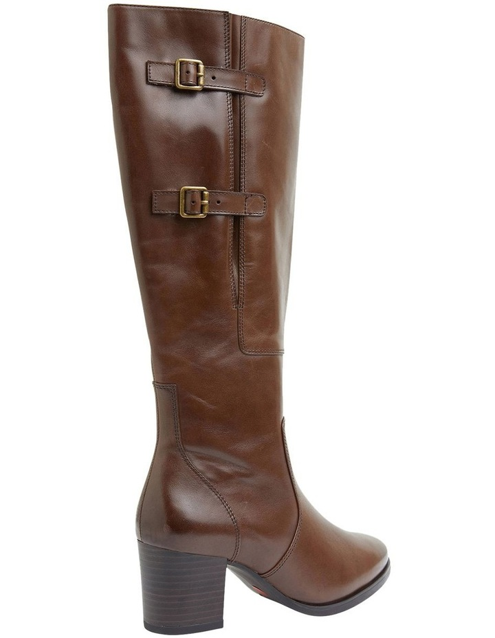 Dictate Brown Glove Boots image 3