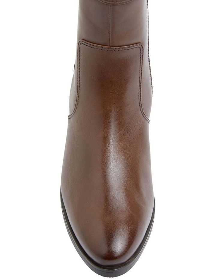 Dictate Brown Glove Boots image 4