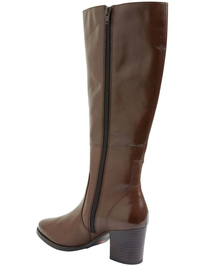 Dictate Brown Glove Boots image 5