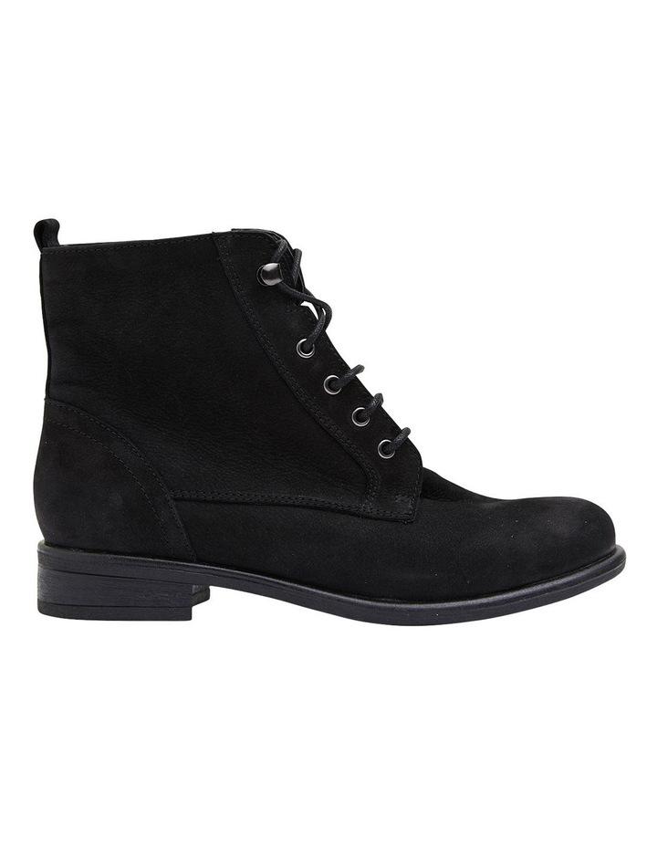 Badge Black Oily Nubuck Boots image 1