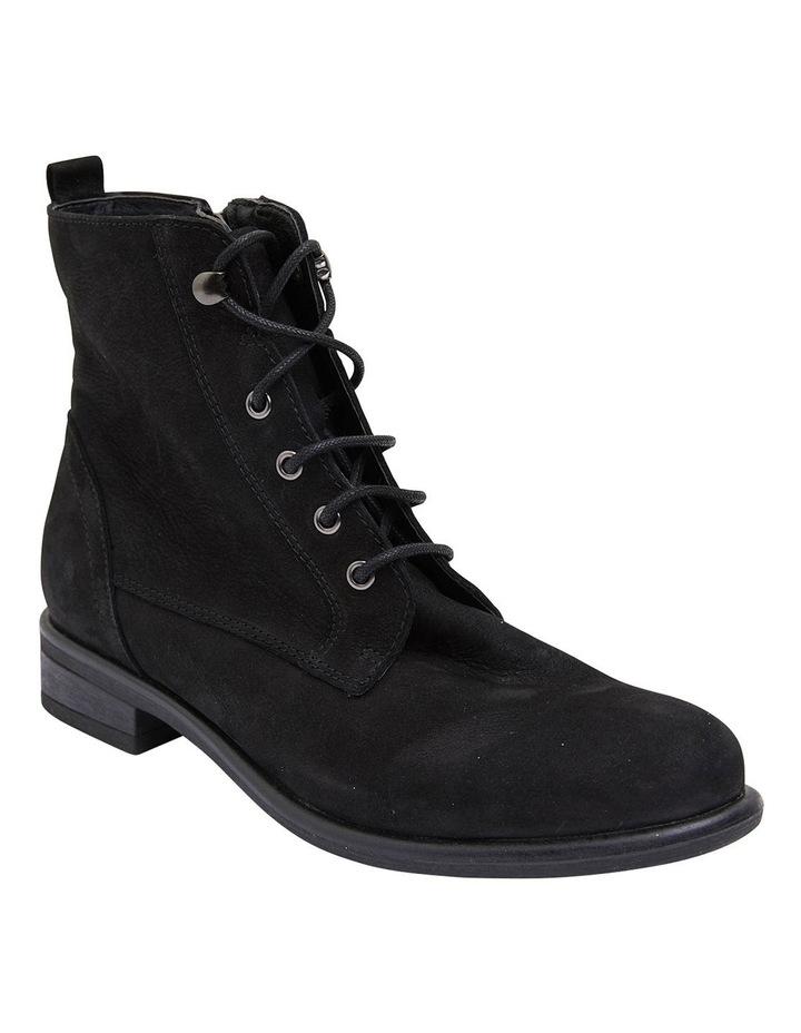Badge Black Oily Nubuck Boots image 2