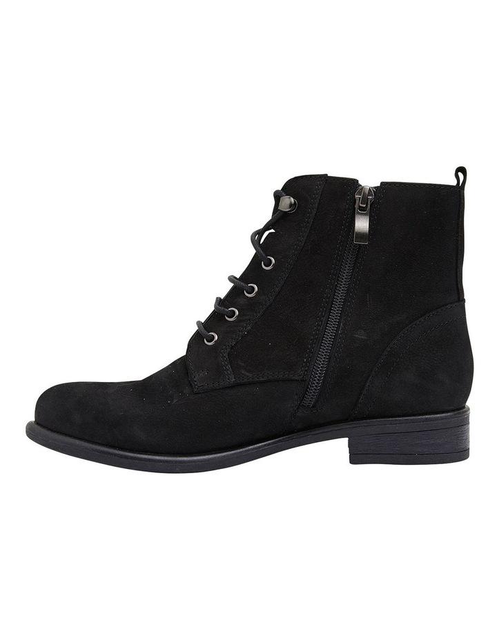 Badge Black Oily Nubuck Boots image 3