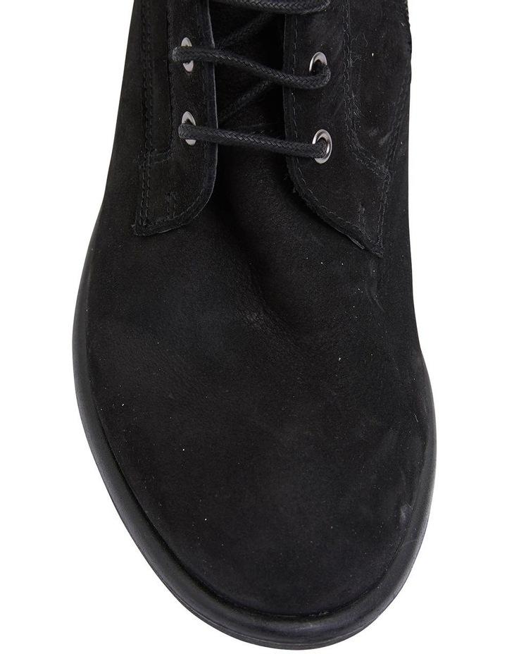 Badge Black Oily Nubuck Boots image 7