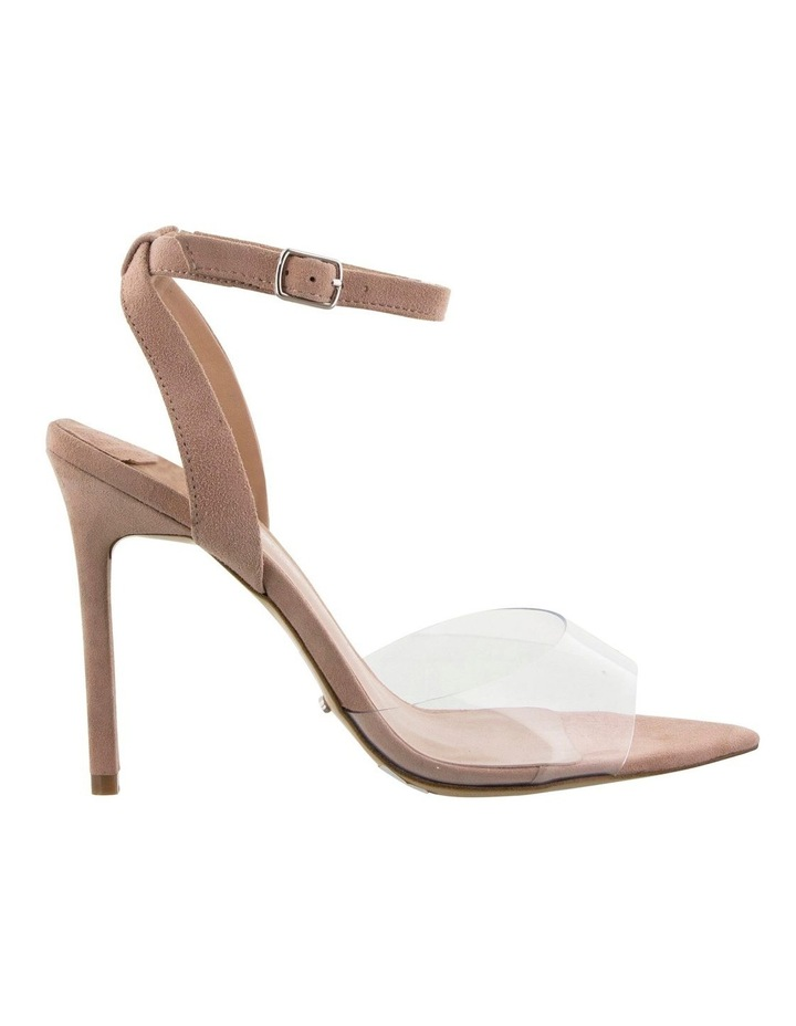 Maxime Clear Vynalite/Blush Kid Suede image 1