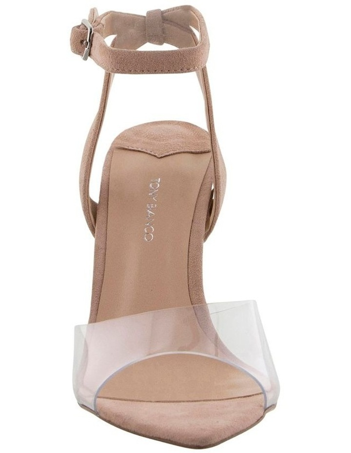 Maxime Clear Vynalite/Blush Kid Suede image 2