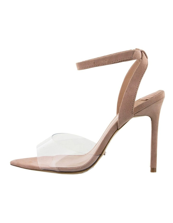 Maxime Clear Vynalite/Blush Kid Suede image 3